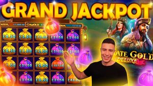 HITTING THE FULLSCREEN ON PIRATES Au DELUXE 🎰 MASSIVE WIN ON PRAGMATIC PLAY ONLINE SLOT MACHINE