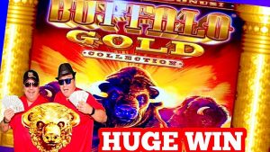 HUGE WIN! OVER 400X BET💰 BUFFALO atomic number 79 SLOT!💰56 SPIN BONUS!★casino bonus GAMBLING!