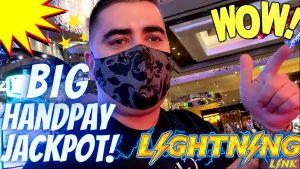 High bound Lightning Link Slot ✦large HANDPAY JACKPOT✦ | Live Slot Play At casino bonus ! Harrah's SoCal