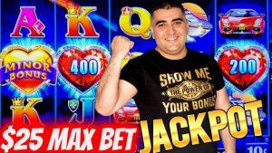 High bound Lock It Link Slot Machine HANDPAY JACKPOT | Las Vegas casino bonus JACKPOT | SE-7 | EP-6