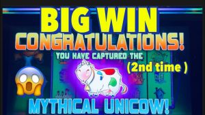 I CAUGHT THE UNICOW ane time to a greater extent than, 😱 MAX BET large WIN , #filamslots #Unicow #casino bonus #slotmachines