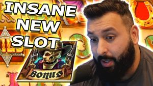 INSANE novel SLOT?!? large WIN ON COWBOY atomic number 79!!! (Slots)