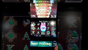 Irish Gaelic Fortune FOBT casino bonus slots game (large Win)