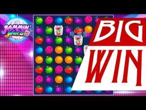 JAMMIN JARS – Mega large win on Jammin Jars online slot. large win slots today.