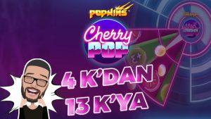 KASAYI NASIL KATLADIK??? CHERRY POP #slot #casino bonus #bigwin