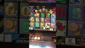 Live at the casino bonus Amazing Money Machine Aristocrat Gaming large Win little investment #Shorts #small