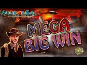 MEGA large WIN volume OF RA 6 (NOVOLINE) – 6€ EINSATZ!