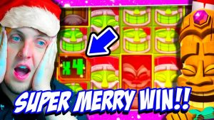 MERRY large WINmas ! Christmas Slots large WIN !