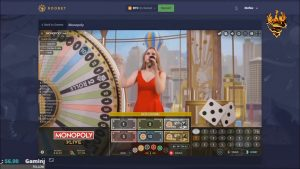 MONOPOLY 10000 × ири WIN - казино бонусу live💎