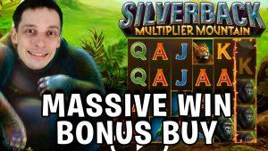 MY BIGGEST WIN on SILVERBACK MULTIPLIER mount Bonus purchase Slot