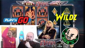 Mega large Win From Saxon Slot!!