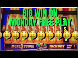 Mon FREEPLAY, large WIN.  #filamslots #casino bonus #slotmachines