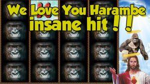 Online Slot – Gorilla large Win together with bonus circular (casino bonus Slots) Huge win