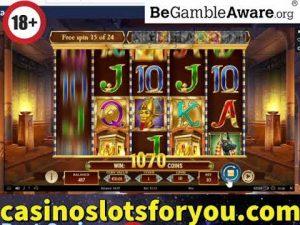 Online casino bonus, Legacy of Dead Slot large WIn Bonus