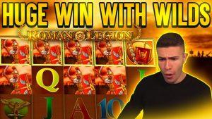 ROMAN LEGION BONUS PAYING large i time again 🎰 HUGE WIN ON GAMOMAT ONLINE SLOT MACHINE