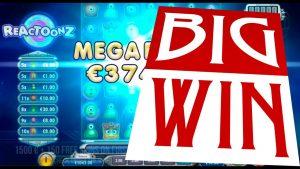 Reactoonz | MEGA large WIN on Reactoonz online slot. Best wins of the calendar week casino bonus