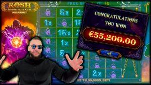 Rosh Immortality Cube large Win (Roshtein Slot) – ONLINE casino bonus BEST OF #55 🔥
