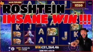 Roshtein Win 31.500€ on Great rhinoceros MegaWays Slot – Insane casino bonus large Wins