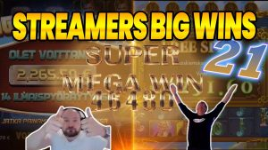 STREAMERS large WINS #21 | 3662x! | 2020