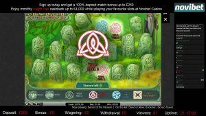 Secret of the Stones large Win   Netent   Novibet Casino Bonus