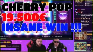 Streamer ClassyBeef Win 19.500€ inward Cherry Pop casino bonus Slot – Insane casino bonus large Wins