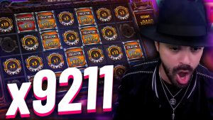 Streamer large win x9211 on Money develop 2 – Top 5 large wins inwards casino bonus slot