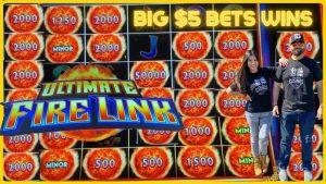 ☄️ULTIMATE FIRELINK💥BONUSES & SUPER large WINS WITH $5 BETS blood-red China STREET SLOT MACHINE HARRAHS casino bonus