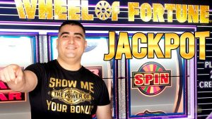 WHEEL OF FORTUNE Slot Machine ✦HANDPAY JACKPOT✦ | High bound Slot Machine Jackpot inward Las Vegas