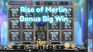 ascent OF MERLIN BONUS large WIN