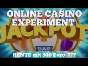 casino bonus Experiment med 300 €   Online casino bonus   stor vinst?