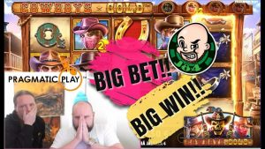 large Bet!! large Win From Cowboys atomic number 79 Slot!!