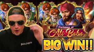 grousse WIN !! FORTUNES OF ALI BABA large WIN - Casino Bonus Spiller vum CasinoDaddys aktuell
