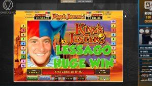 large WIN!!! Kings Jester Bonus circular from LIVE current (casino bonus Games)