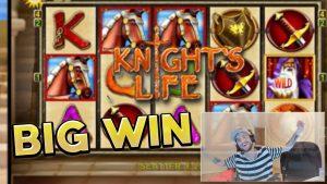 large WIN!!!! Knights Life large win – casino bonus – Bonus circular (Huge Win)