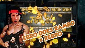 large WIN!!!!! RAMBO bonus circular from LIVE flow (casino bonus Games)
