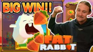 large WIN!!! obese RABBIT large WIN – €5 bet on casino bonus slot from CasinoDaddys current