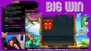 large WIN on novel GAME Tiki