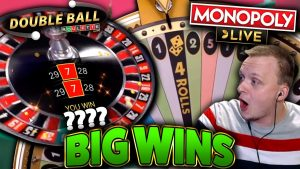 large WINS on Monopoly Live together with Double Ball Roulette!