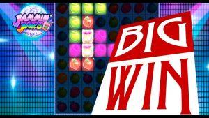 large Win on Jammin Jars online slot  – biggest win on oline casino bonus.