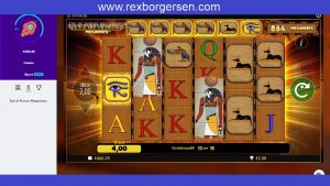 optic Of Horus – Megaways – large Win