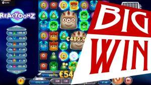 rattling large WIN on Reactoonz online slot | Best wins of the calendar week casino bonus
