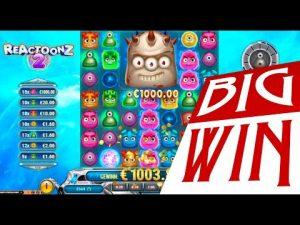 rattling large win on Reactoonz 2 online slot | Best wins of the calendar week online casino bonus