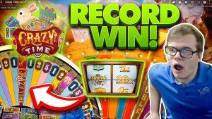 tape BREAKING WIN! 20X CRAZY TIME! large turn a profit! casino bonus Games