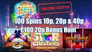 £100 20p Bonus Hunt + Opal Fruits 100 Spin Challenge + Community large WINS!! & cry Outs