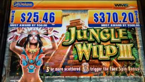 ★CHASING A large BONUS WIN ★JUNGLE WILD III (WMS) Slot☆ Barona casino bonus☆彡栗スロ