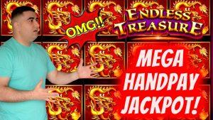 ✦MEGA HANDPAY JACKPOT✦ On Endless Treasure Slot Machine | High boundary Slot Machine JACKPOT | EP-30