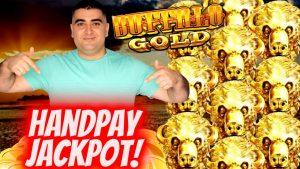 ✦large HANDPAY JACKPOT✦ On Buffalo atomic number 79 REVOLUTION Slot Machine! Las Vegas casino bonus JACKPOT !SE-8  EP-14