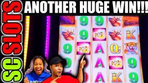 128X Multiplier On Buffalo Grand Delivers a HUGE WIN @ THE D casino bonus!!!