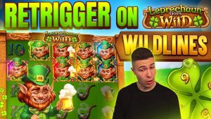 ONLINE casino bonus SLOT MACHINES large Win Devils Number Temple Of Treasure Leprechaun Goes Wild High5