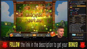 ONLINE casino bonus SLOT MACHINES large Win Devils Number Temple Of Treasure Leprechaun Goes Wild High5